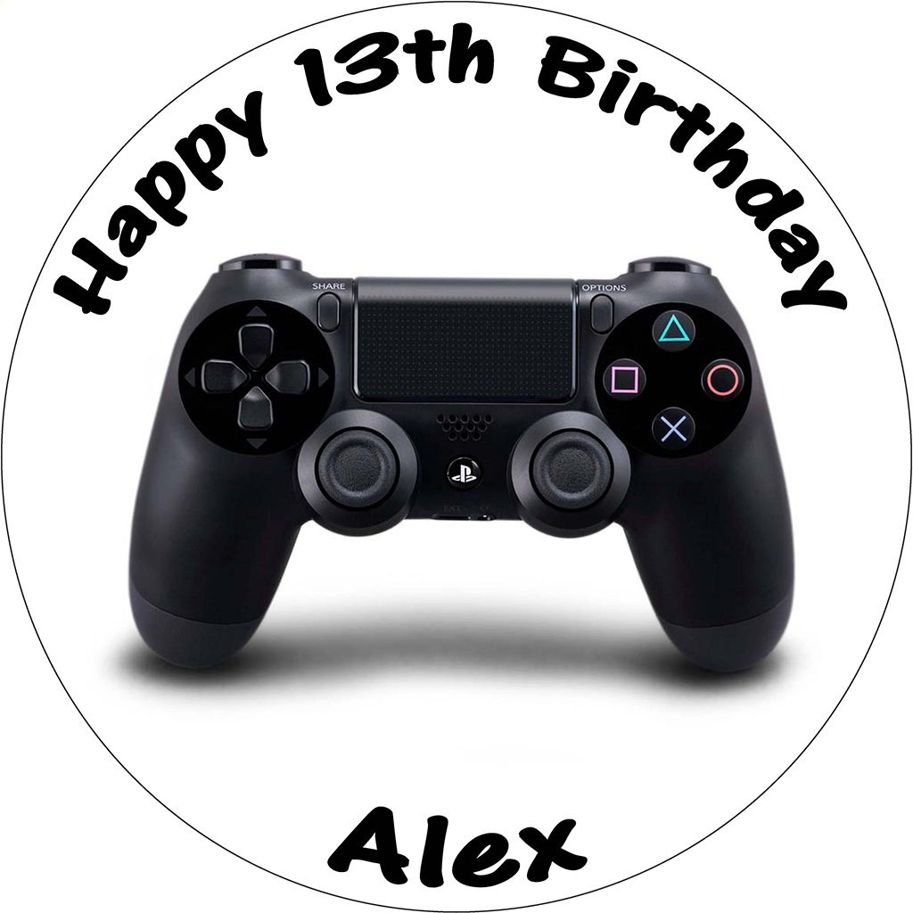 Playstation Controller Cake Topper